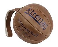 Original TRENAS Schleuderball aus Leder - 1,00 KG für das Deutsche...
