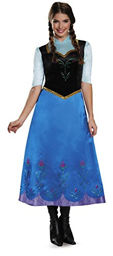 Deluxe Anna Traveling Adult Costume - Small -