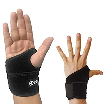 69368b1d79 Copper Compression Wrist Wrap and Wrist Brace - Guaranteed Highest Copper  Content Support for Wrists,