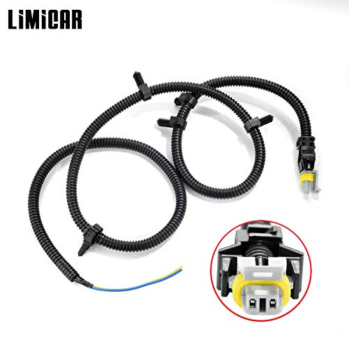LIMICAR 1PC ABS Wheel Speed Sensor Wire Harness N15002 Compatible w/ 01-05 Century 05-09 Lacrosse 02-07 Rendezvous 00-05 Cadillac DeVille Pontiac Grand Prix 04-08 Cadillac SRX 05-09 Cadillac STS (Wire Harness Abs)