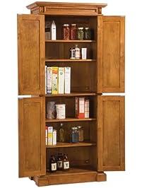 kitchen pantry. Pantry with Cottage Oak Finish Kitchen Pantries  Amazon com
