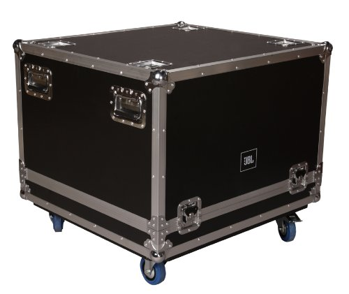 JBL Bags JBL-FLIGHT-SRX718S/VRX918S Flight Case for (1x) SRX718S/VRX918S, 1/2-Inch Plywood Construction, 3.5-Inch Casters and Truck Pack Exterior. by JBL Bags