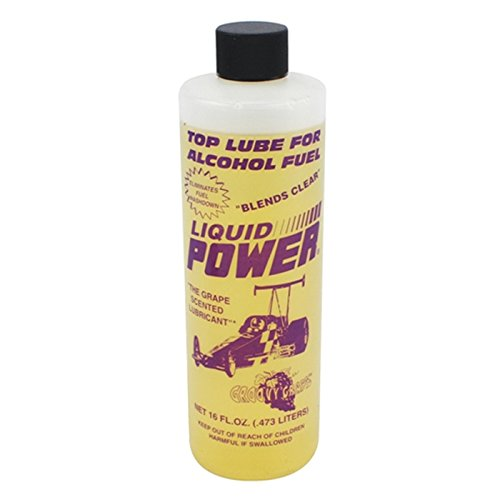Power Plus 19769-31 Fuel Additive Alcohol Top Lube Grape -