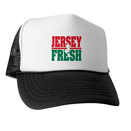 CafePress - Jersey Fresh - Trucker Hat, Classic Baseball Hat, Unique Trucker Cap