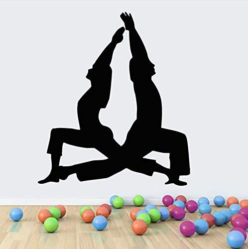 Wuyyii Arte De La Pared Murales Vinilo Hombre Mujer Fitness ...