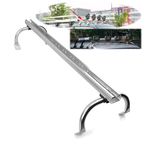 "Price comparison product image Aluminum 44""-60"" Adjustable Jeep Truck Fog Driving 4X4 SUV Off Road Jeep Roof Top Light Bar Lamp Brace"