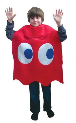 Pac-Man Blinky Deluxe Child Costume Pac-Man Bryn key deluxe children's costume Halloween Size: One Size Fits Most Kids (japan import) by (Pac Man Halloween Costume)
