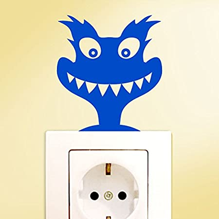 Wall tattoo cheap g120 switch sticker monsters wall sticker brown bxh 6