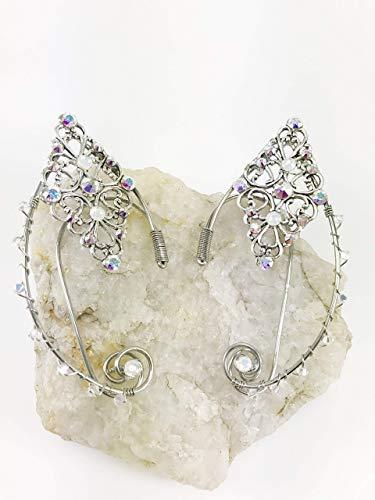 Elven Ear Cuffs SILVER Magical Fairy Ear Cuffs, Wire Elven or Fairy Ear Cuffs