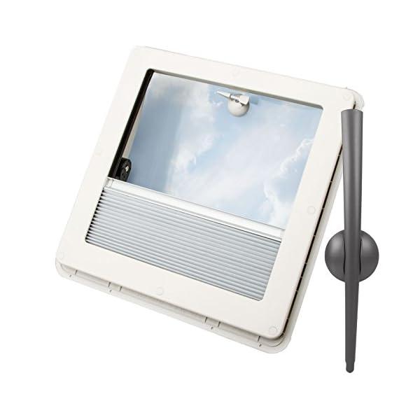 415YprNWeaL Dachfenster Remis Remitop Vista 40 x 40 cm Klar + Dekalin Dichmittel für Wohnwagen oder Wohnmobil