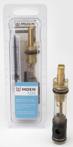 Moen 1225 One-Handle Bathroom Faucet Cartridge Replacement, Brass by Moen (Image #1)