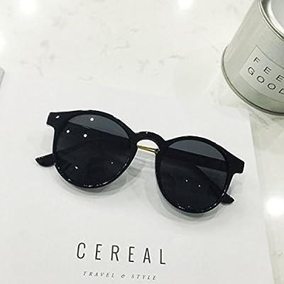 LXKMTYJ Les lunettes à la mode transparent fort avant-garde retro big box  visage rond lunettes retro lunettes rondes, noir et brillant cc93de84fc3f