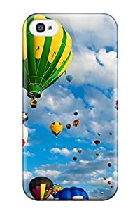 NeDYPeV2963SZBSY Balloon Race Fashion Tpu 4/4s Case Cover For Iphone