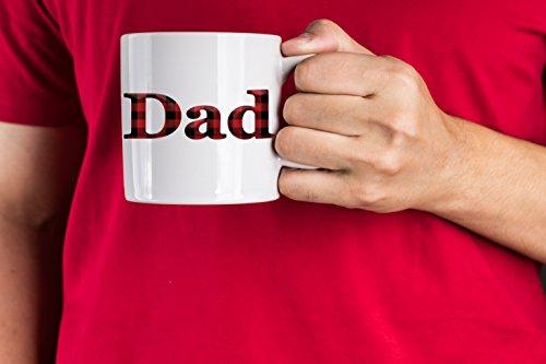 Buffalo Plaid International Dad Fathers Day Gift Coffee Mug  11Oz   Dad