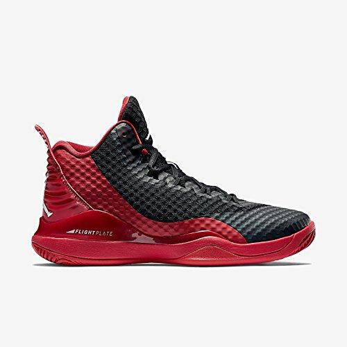 Nike - Super Fly 3 PO - 724934601 - Farbe: Rot-Schwarz - Größe: 48.5