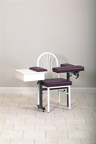 CLINTON MD SERIES BLOOD DRAWING CHAIRS Uph seat,flip arms & drawer Item# 64929-F