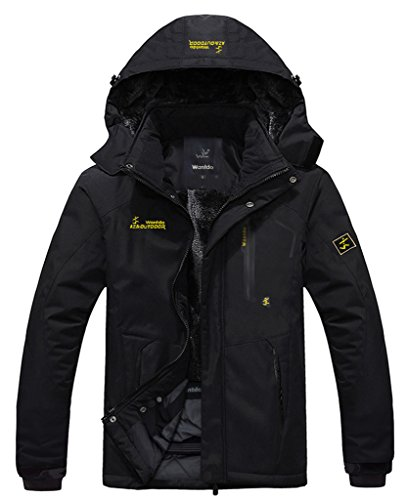 Wantdo Men's Waterproof Mountain Jacket  - Ski Clothes Shopping Results