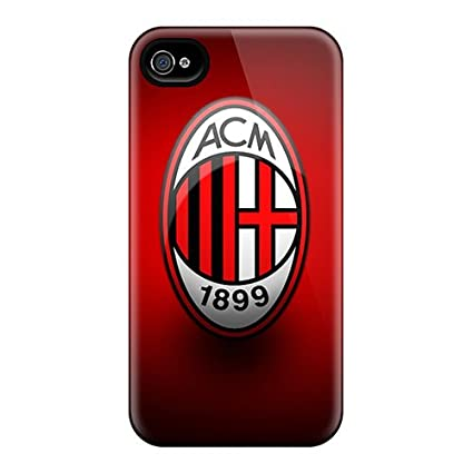 Amazon.com: Anti-scratch And Shatterproof Ac Milan 1 Phone ...