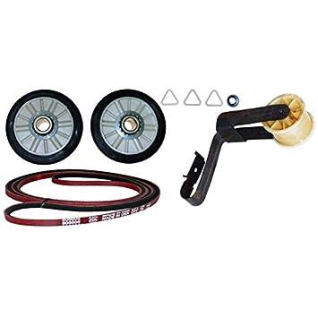 kenmore dryer belt. 4392065 dryer belt maintenance kit repair part for whirlpool, amana, maytag, kenmore and kenmore dryer belt