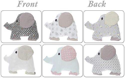 Protector Cuna Bebe Cama Protector De Bordes,Adorable Elefante En ...