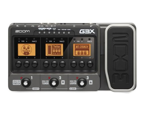 Zoom G3X Amplifier Simulator Expression