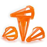 """Franklin Sports 9"""" Flexible Soccer Cones- 4 Pack"""