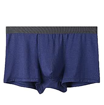 Mens Underwear Boxer Briefs Cotton Short Leg Breathable Boxer Briefs 1 S
