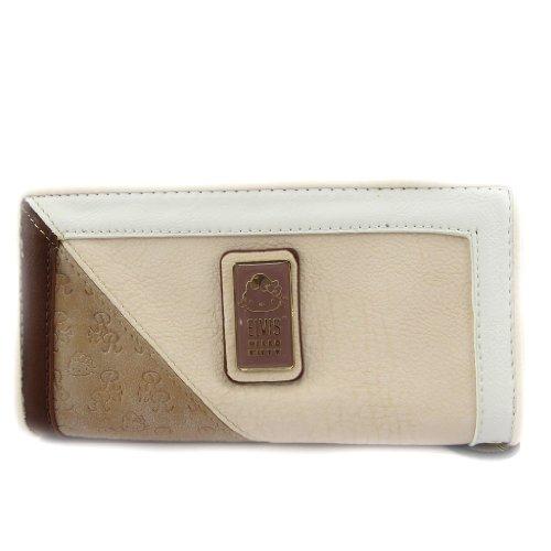 Wallet + checkbook holder 'Hello Kitty'beige (Hello Kitty Checkbook Wallet)