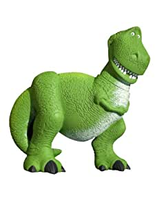 Wallables 3D Wall Dcor - Rex the dinosaur from Disney / Pixar Toy Story 1, 2 and academy award winning Toy Story 3, 3-Dimensional Soft Foam Toy Wall Dcor, Now with Bonus repositional decals!