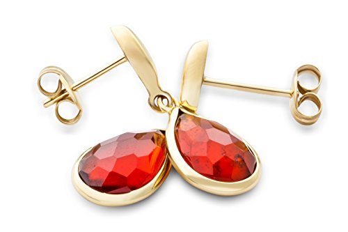 Miore - MN9 - Boucles d'Oreille - Femme - Or Jaune 9 Cts 375/1000