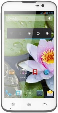 BQ Aquaris 5 - Smartphone libre Android (pantalla 5 pulgadas, cámara 8 Mp, 16 GB, Quad-Core 1.2 GHz, 1 GB RAM), blanco: Amazon.es: Electrónica