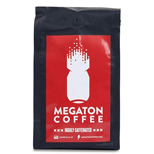 Megaton Coffee, The Small Batch High Caffeine Coffee for Top Performance. (Ground Coffee) |Strong Coffee for Natural Energy|