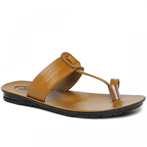 ee6c7596c37a PARAGON Stylish Men s Sandals size 7 (Tan)  Buy Online at Low Prices ...