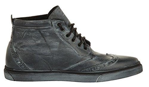 in alta uomo Venere 1023 da Sneakers Ylati nera pelle qITz4wA