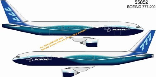 400 Boeing House (Boeing 777-200 New Dreamliner House Livery 1-400 Dragon Wings)
