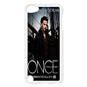 Bloomingbluerose Once Upon a Time Captain Hook Colin O'donoghue Killian Jones Ipod Touch 5 Cases, [White]