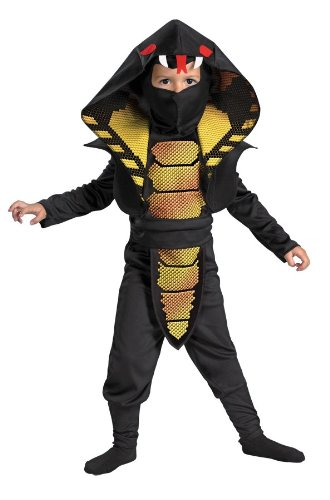 Halloween FX Cobra Ninja Toddler Costume (3T-4T)