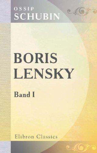 Boris Lensky: Band I (German Edition) PDF