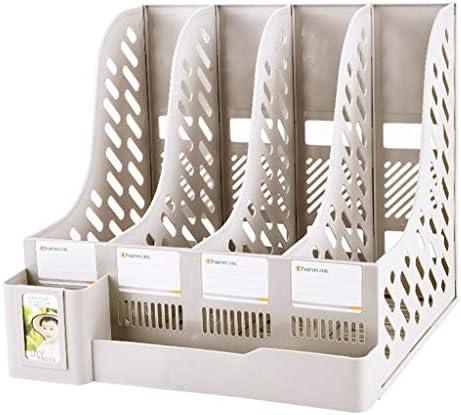Ordner WDX - Aktenhalter Bürobedarf Bücherständer einfache Desktop Storage Box Storage Storage weiß