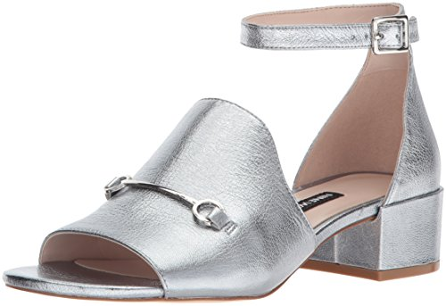 Nine West Women's Xquilza Metallic Sandal Silver/Metallic buy cheap 100% guaranteed countdown package online under $60 sale online low shipping fee cheap price e0eeoDPc