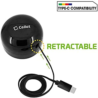 Cellet Type-C Powerful Fast Charging Wall Charger Compact Retractable One Plus OnePlus 6T,6,5T,5,3T,3 Pixel 3 XL Compatible for Google Pixel 3 Pixel XL Pixel Pixel 2XL 3A//15W Pixel 2
