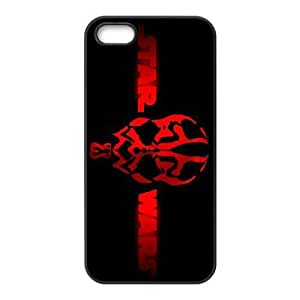 iphone5 5s phone cases Black Star Wars Darth Maul cell phone cases Beautiful gifts PYSY9385190