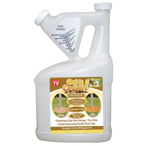 science solutions llc gicc32 32 OZ, Get It Cedar, Concentrate, Mulch Colorant