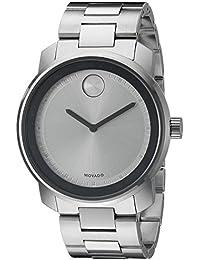 Mens 3600257 Analog Display Quartz Silver Watch