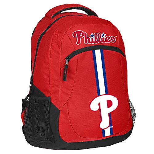 (FOCO MLB Philadelphia Phillies Unisex Action BACKPACKACTION Backpack, Team Color, One Size)