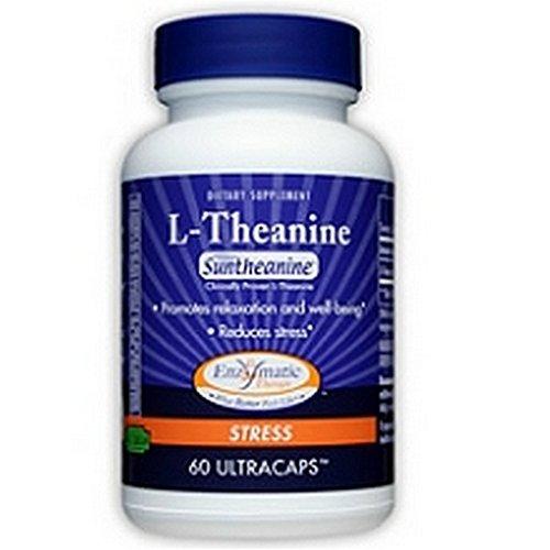 Thérapie enzymatique L-théanine, 60 capsules végétariennes