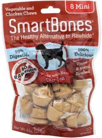 SmartBones Mini Chicken Chews 8 Pack