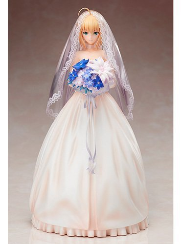 Aniplex Fate/stay night Saber ~ 10th Royal dress ver~ 1/7 PVC Figure plus (Dress Ver Pvc Figure)