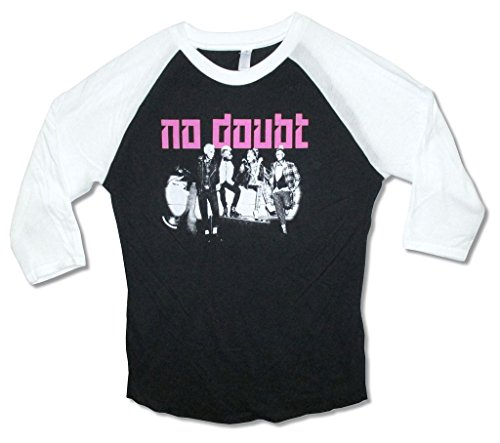 No Doubt Black and White 2015 Mens Raglan Shirt (L)