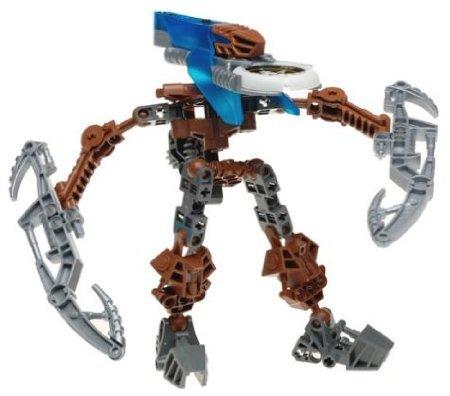 LEGO Bionicle VAHKI Figure #8617 Zadakh (Dark Blue) Bionicle Blue Figure